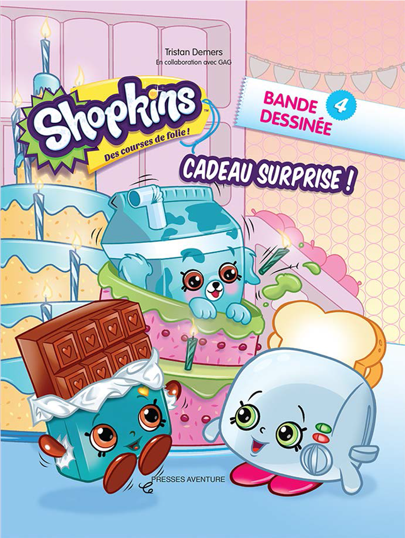 Shopkins - Cadeau surprise ! #4