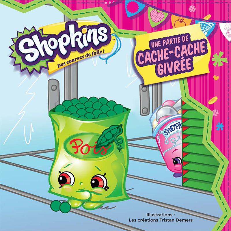 Shopkins - Une partie de cache-cache givrée