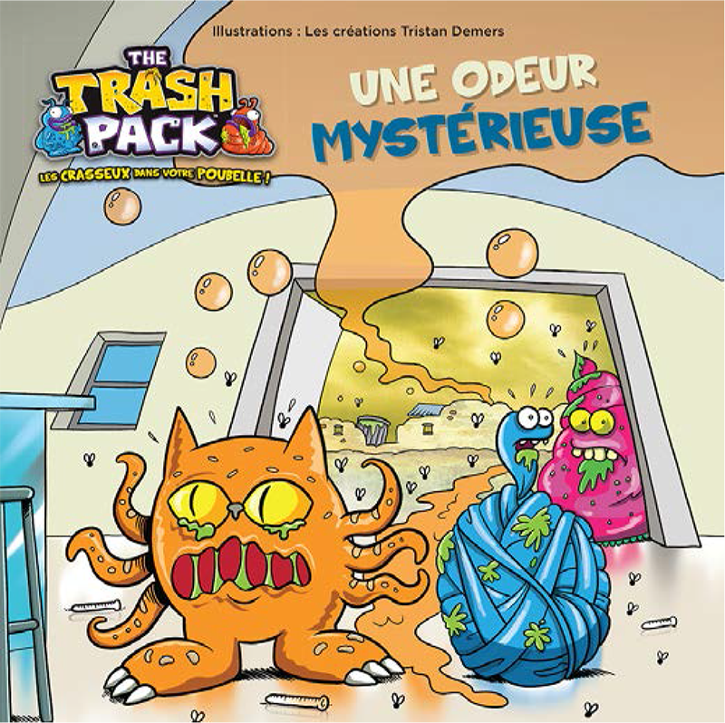 Trash Pack - Une odeur mystérieuse