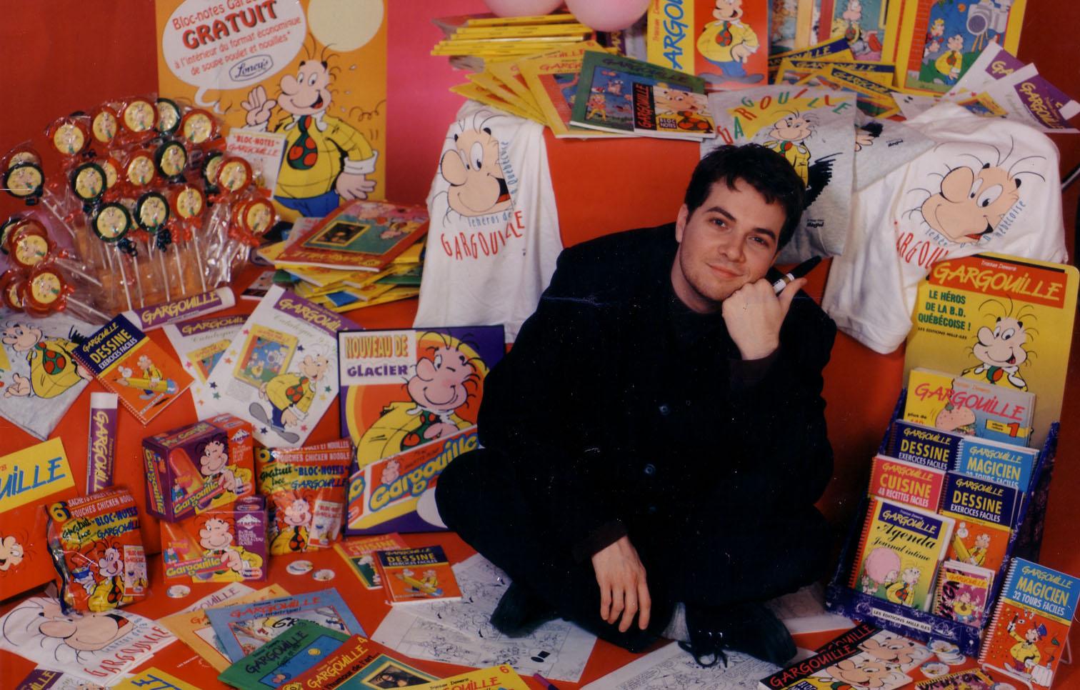 Tristan Demers - Créateur des BD Gargouille et Les Minimaniacs
